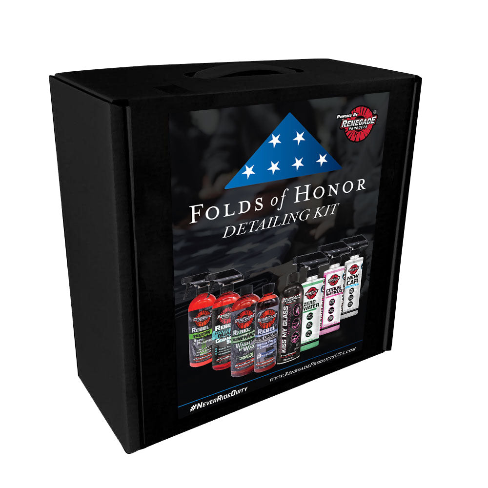 Folds of Honor Detailing Kit