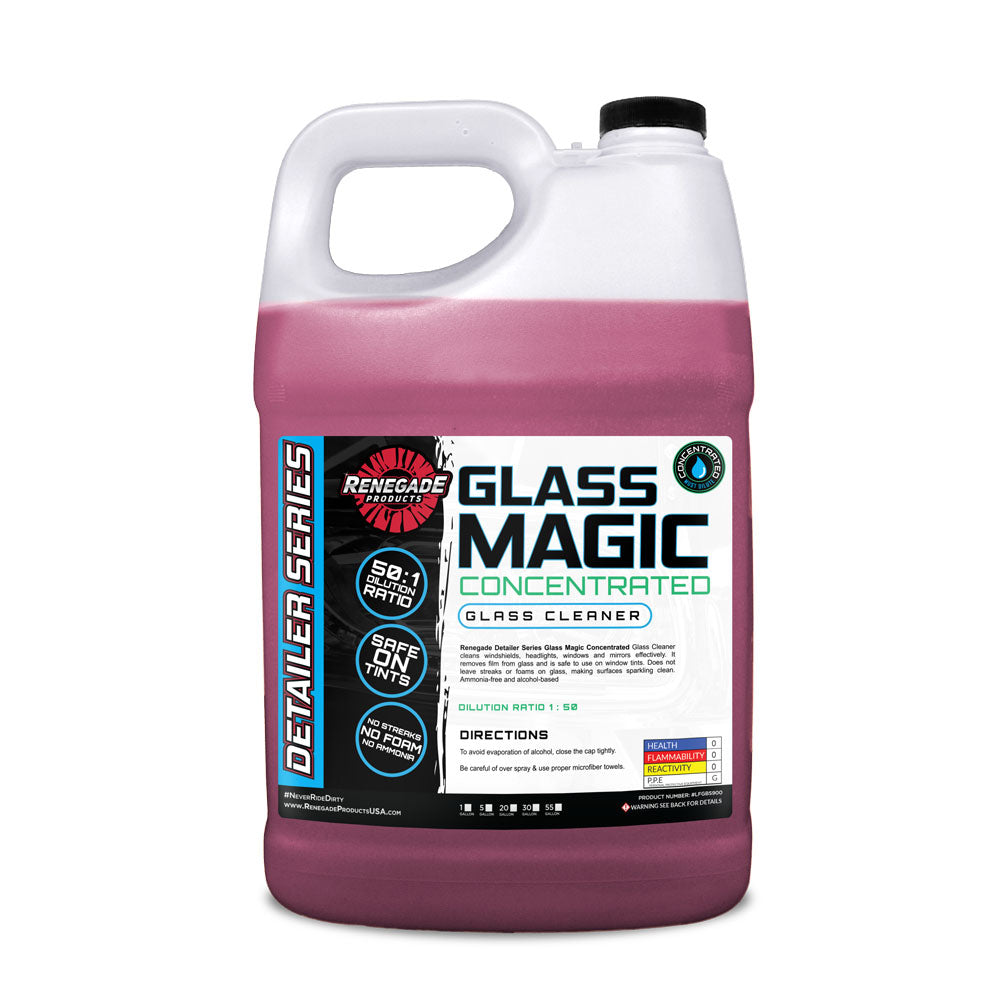 Glass Magic Cleaner Concentrated Glass Cleaner