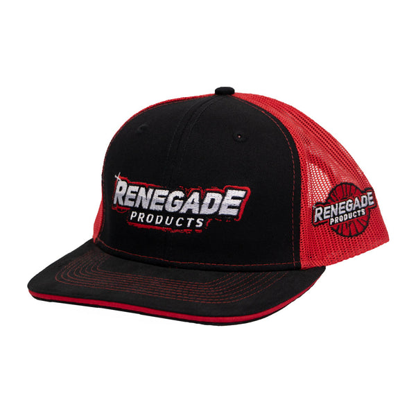 Renegade Products Mesh Hat (Black/Red)