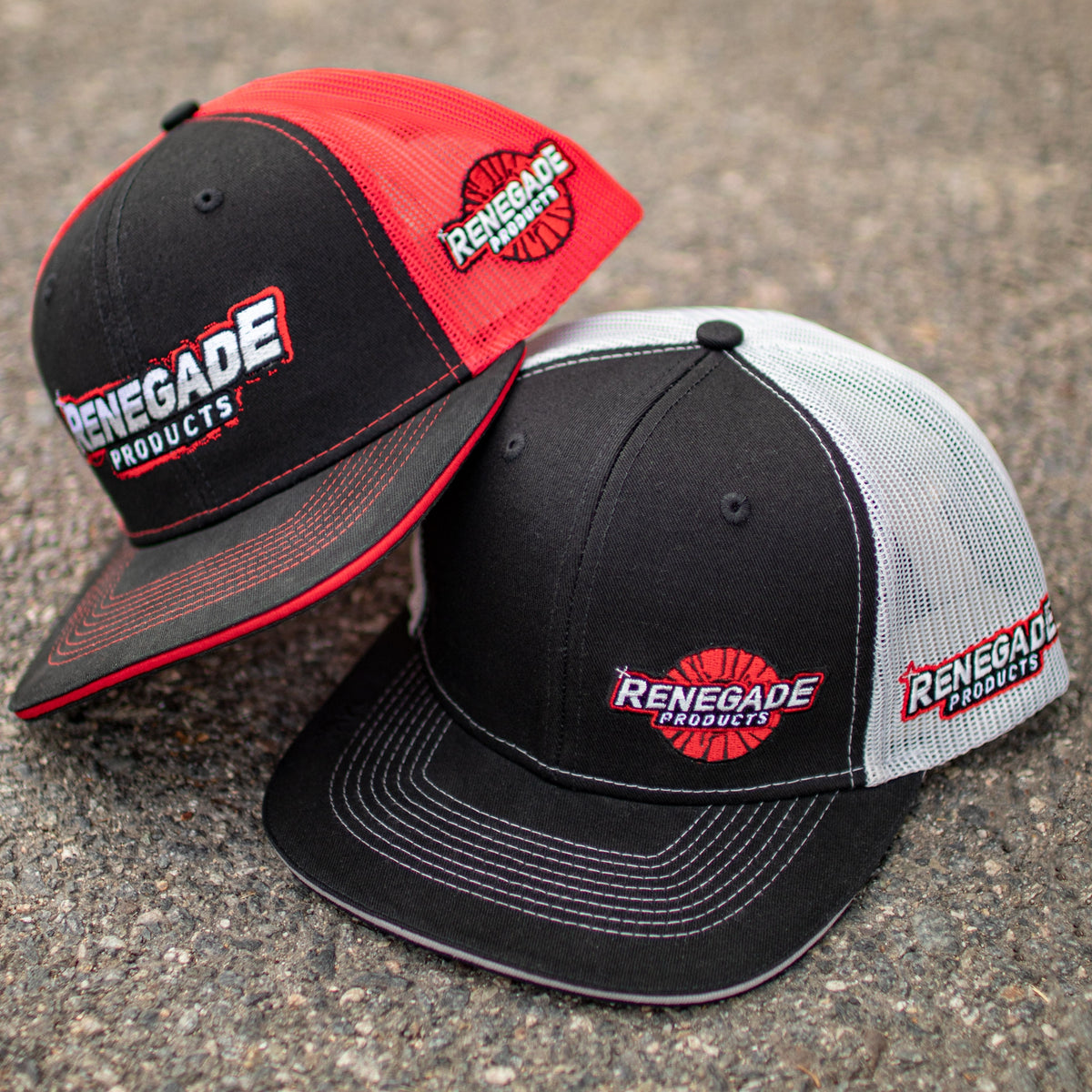 Renegade Products Mesh Hat (Black/Grey)