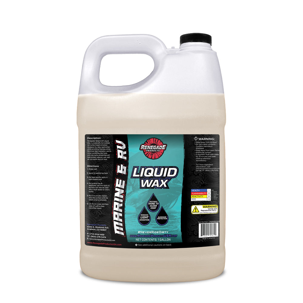 Marine & RV Liquid Wax