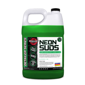 Neon Polish Concentrated Wash & Wax (Green)