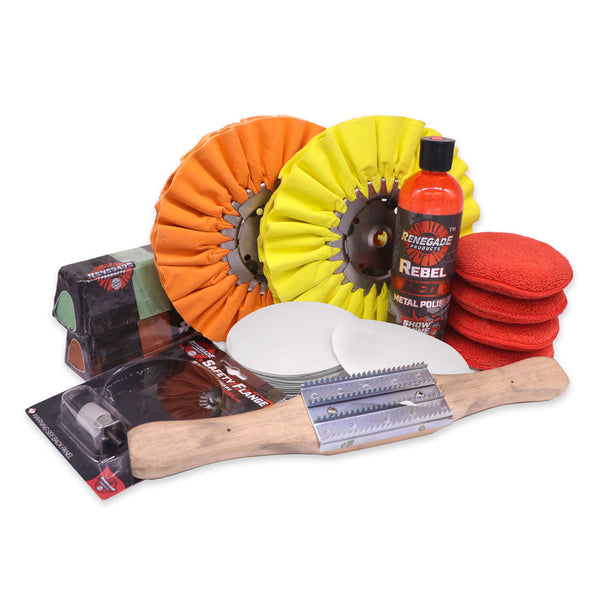 Pontoon Boat Polishing Kit
