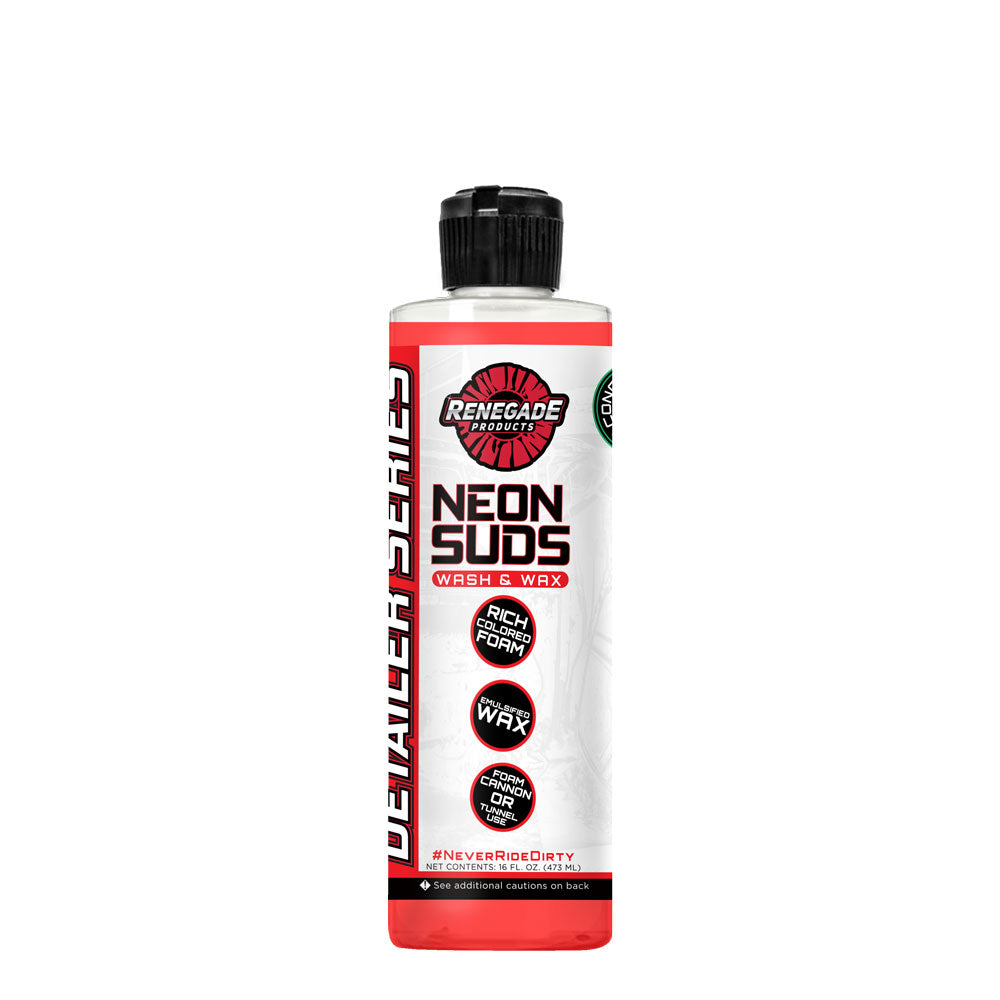 Neon Polish Concentrated Wash & Wax (Red)