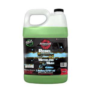 Rebel Notorious H2O Waterless Wash