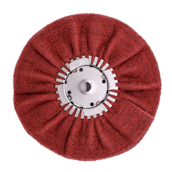 Satin Airway Buffing Wheel for Angle Grinders