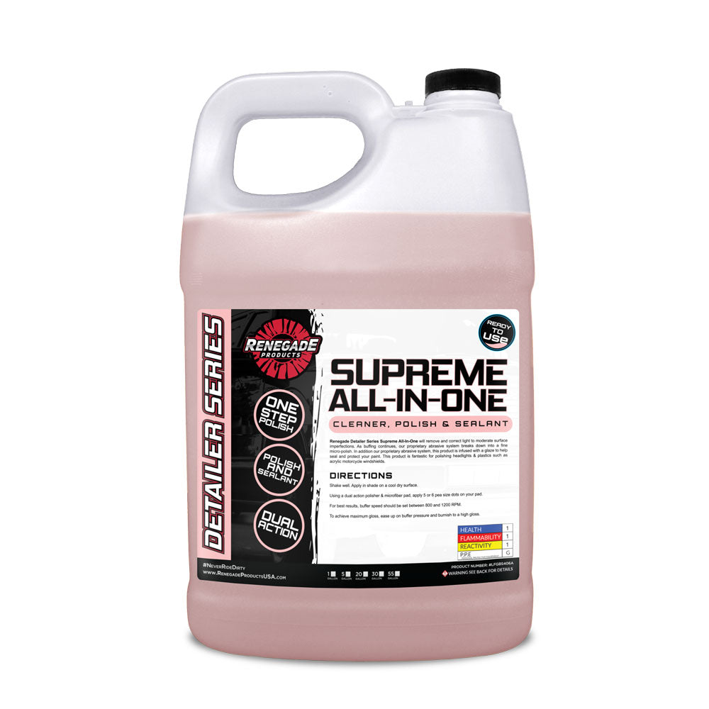 Supreme All-in-One Cleaner, Polish, & Sealant