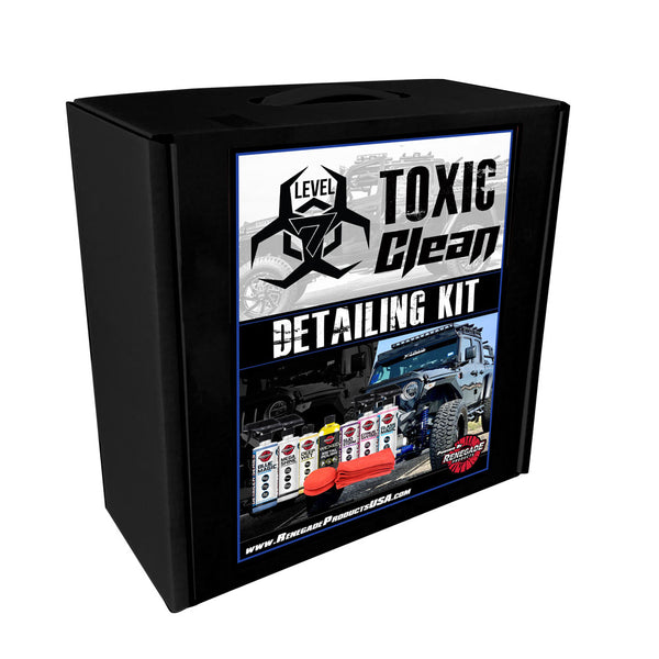 Toxic Clean Detailing Kit
