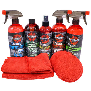 Wash, Shine, & Protect Mini Kit