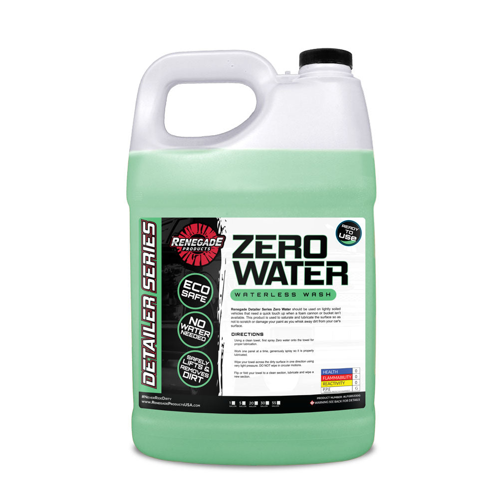 Zero Water Waterless Wash