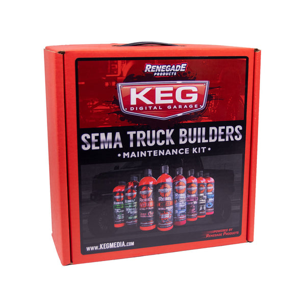KEG Digital Garage SEMA Truck Builders Maintenance Kit