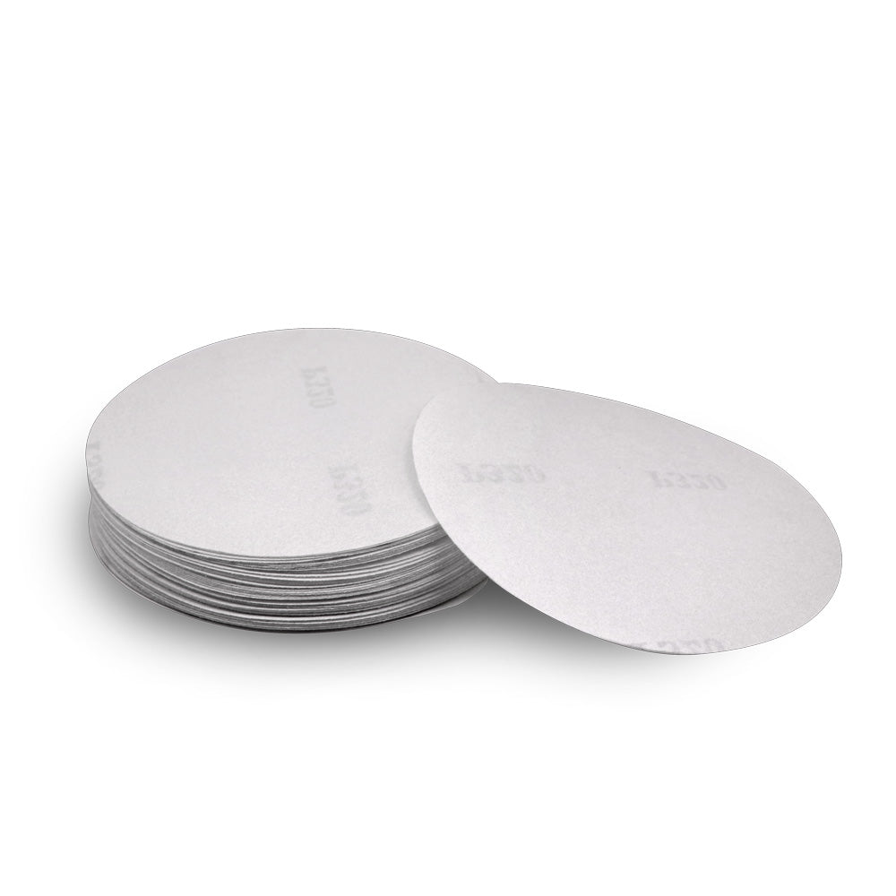 "5"" Gold Hook & Loop (Velcro) Sanding Disks 