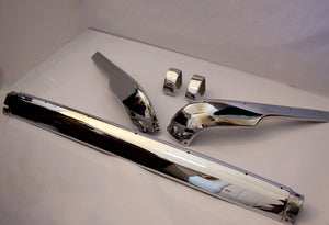 BMW 1600/2002 Long Stainless Steel Bumper Set