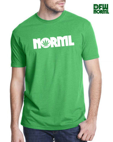 Unisex Kelly Green NORML T-Shirt