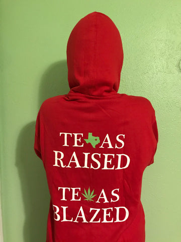 Red DFW NORML Pullover Hoodie
