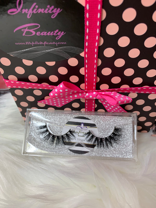 """Ruby""-3D Mink Eye Lashes"