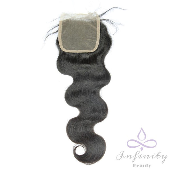 Mink Body Wave Closure- 100% Virgin Human Hair