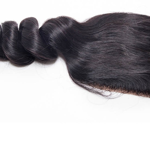 Loose Wave 100% Virgin Hair Lace Closure