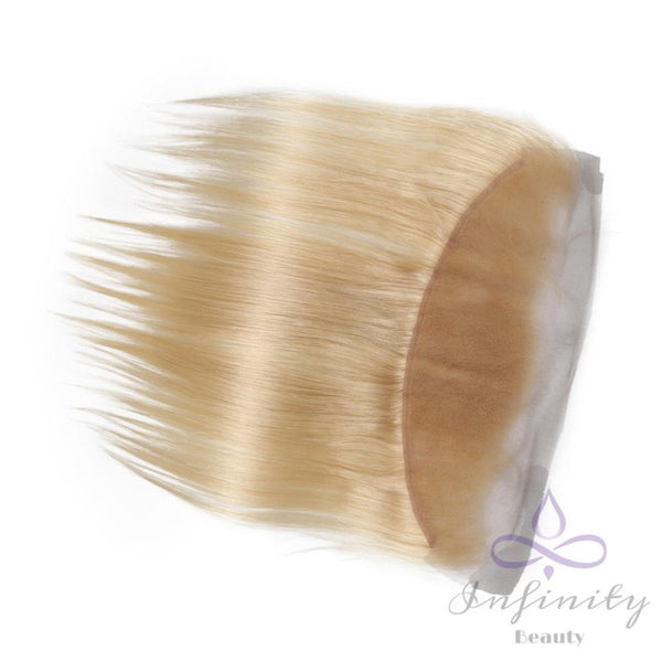 Blonde Straight 100% Human Hair Lace Frontal