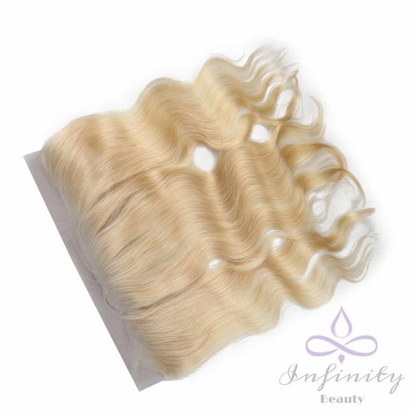 Blonde Body Wave 100% Human Hair Lace Frontal