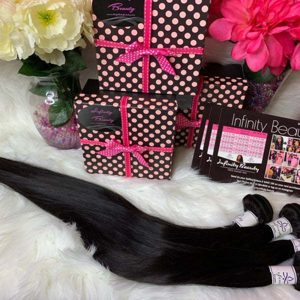 4 Bundle Deal- Straight 100% Virgin Hair
