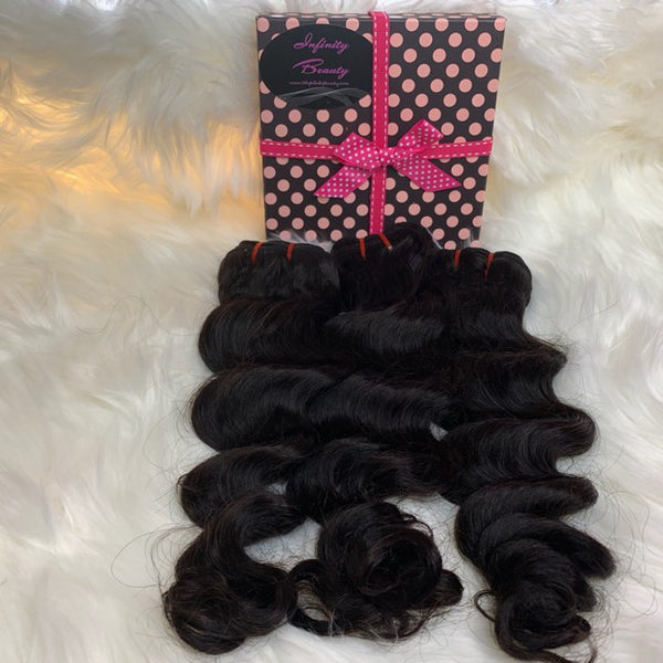 3 Loose Deep Wave Virgin Hair Bundles