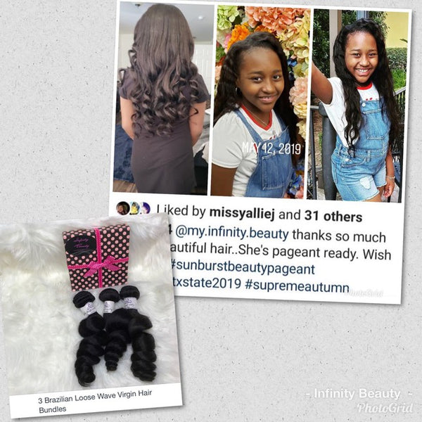 3 Loose Wave Virgin Hair Bundles