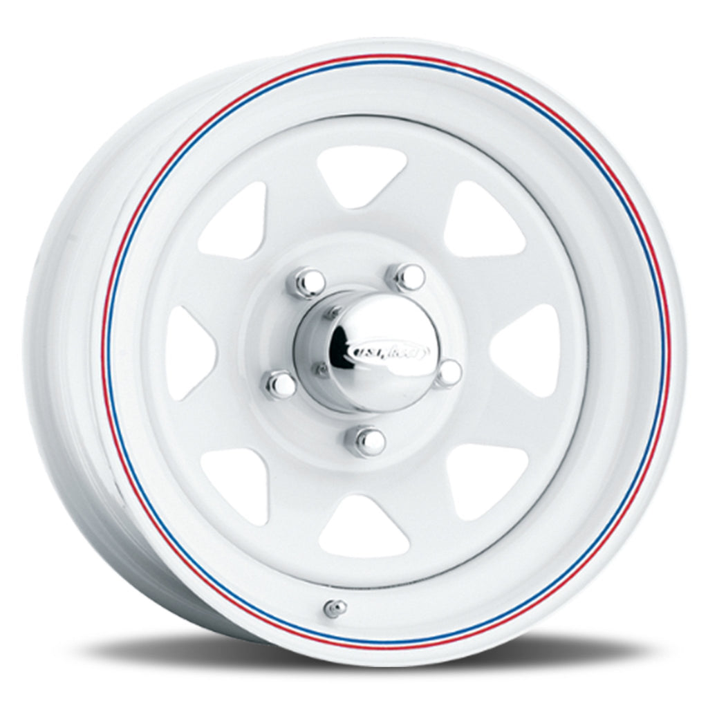 8-Spoke - White (Series 70) Special Price