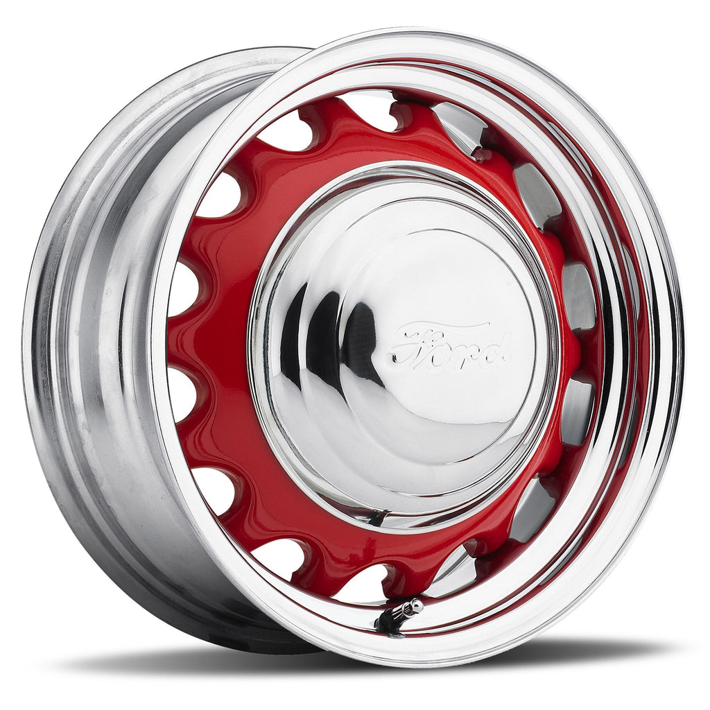 Artillery - Chrome Rim/Raw Center (Series 556) Special Price