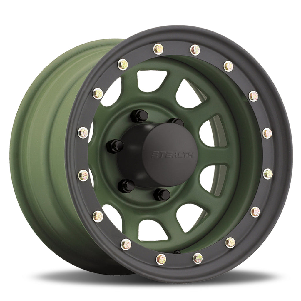 Stealth Daytona Simulated Beadlock - Camo Green (Series 844CG)