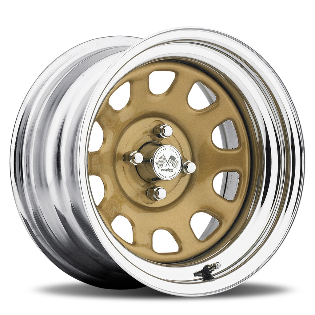 Daytona - Gold/Chrome Hoop (Series 022GC)