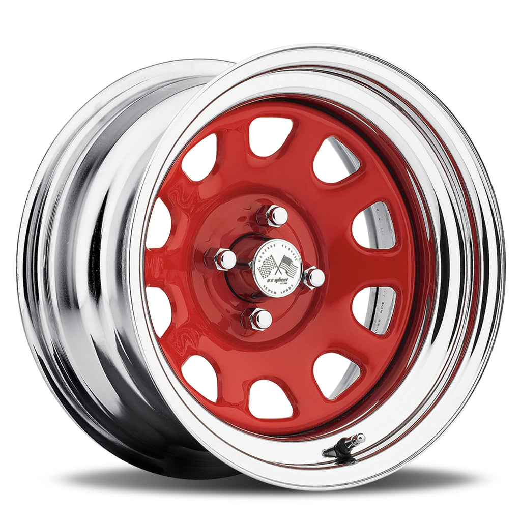 Daytona - Red/Chrome Hoop (Series 022RC)