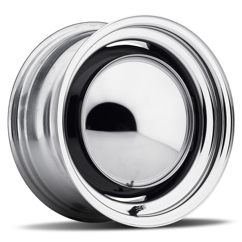 OE - Chrome Rim/Raw Center (Series 656)