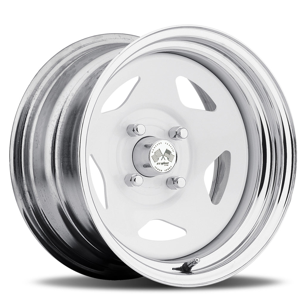 Star - White/Chrome Hoop (Series 021WC)