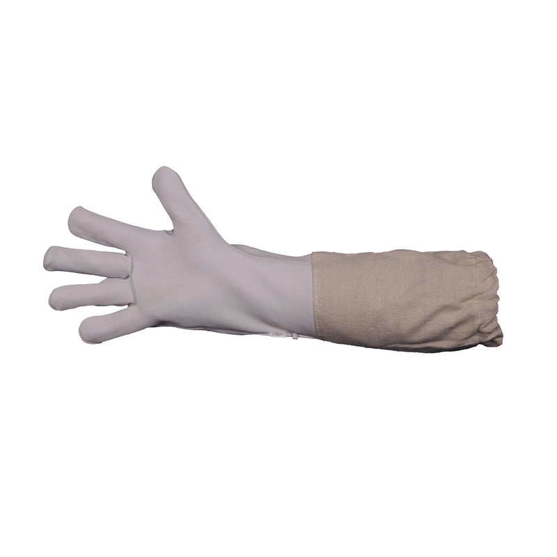 Beekeeping Bee Gloves Goat Skin Protective Long Leather Sleeve Gloves