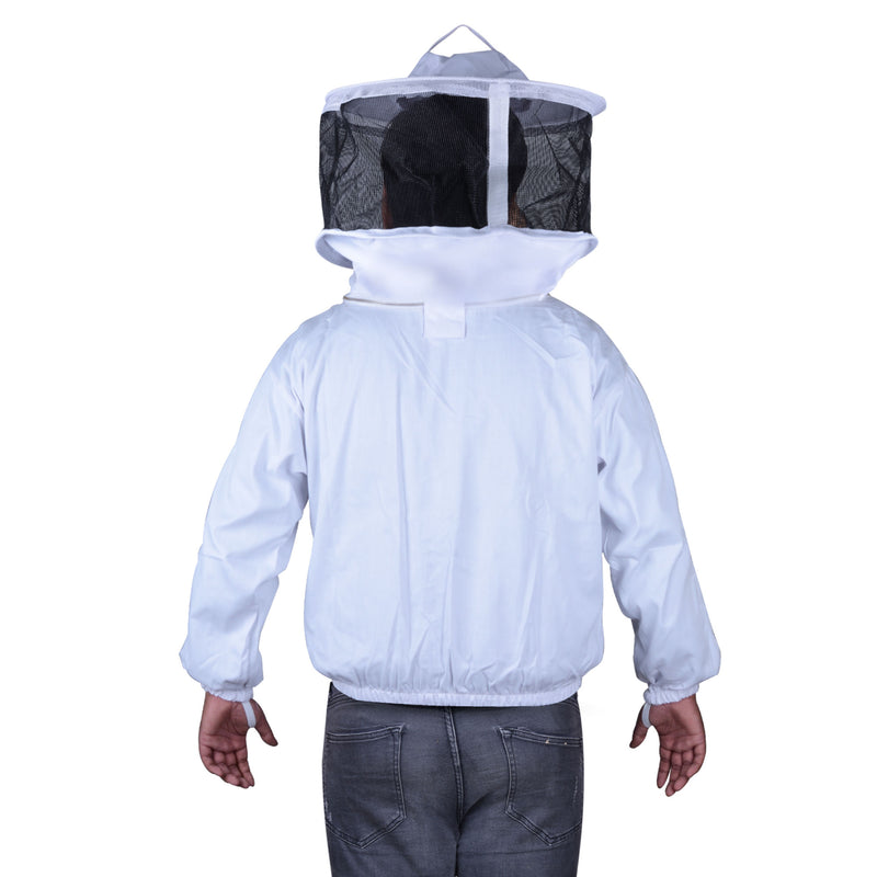 Beekeeping Bee Jacket Standard Cotton Jacket With Round Head Veil Protective Gear