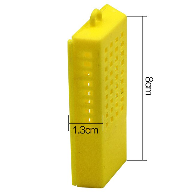 20 PCS Bee Transport Cages Beekeeping Bee Queen Rearing Cage Cell Plastic
