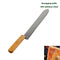 Stainless Steel Z-shaped Uncapping Knife for Honey Extraction & Cutting, Double-sided Sharp Beekeeping Tools