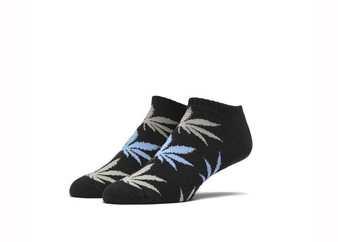Huf No Show Plantlife Sock Black Grey Light Blue