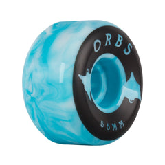 Welcome Orbs Specters Swirl Blue/White 99a 56mm
