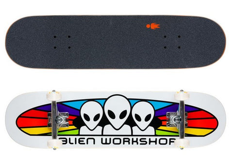 Alien Workshop Spectrum White 7.75 & 8.0 Complet