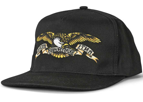 AntiHero Eagle Snapback Black