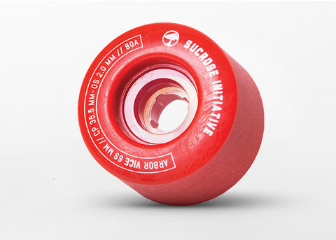 Arbor Vice 69mm Red