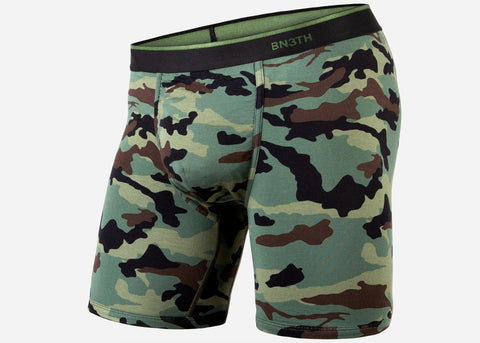 BN3TH Classic Boxer Brief Print Camo Green