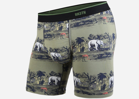 BN3TH Classic Boxer Brief Print Savannah Green