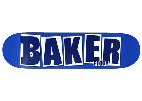 Baker Figgy Brand Name Blue 8.125