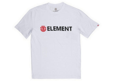 Element Blazin SS T-Shirt Optic White