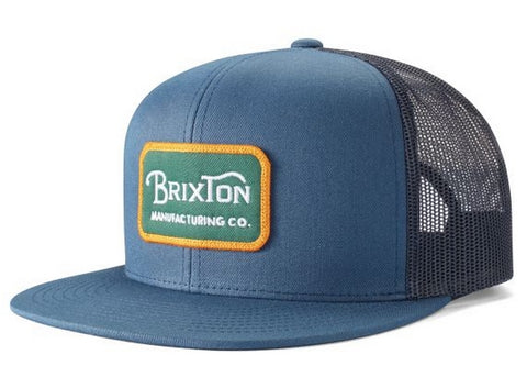 Brixton Grade Mesh Washed Navy/Evergreen