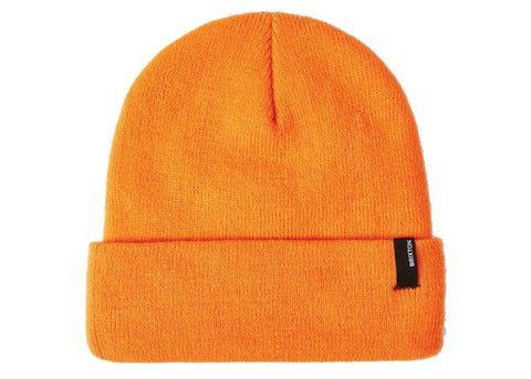 Brixton Harbor Watch Cap Beanie Athletic Orange