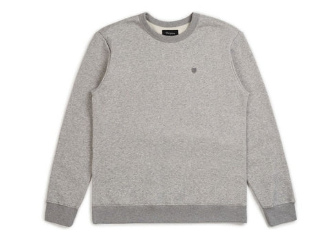Brixton B-Shield Crew Heather Grey